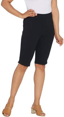 Joan Rivers Classics Collection Joan Rivers Joan's Signature Pull-On Bermuda Shorts