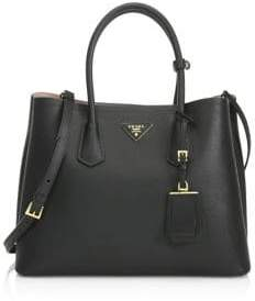 Prada Saffiano Cuir Large Double Bag