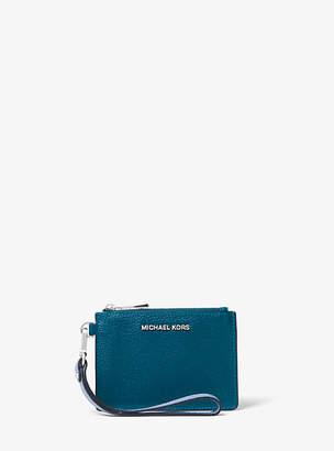 Michael Kors Tri-Color Pebbled Leather Coin Purse