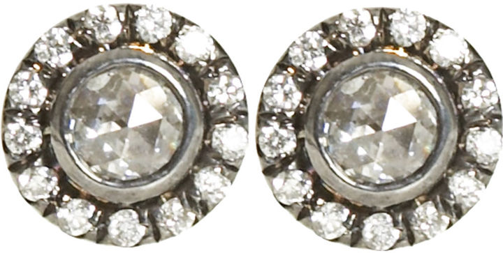 Zoe Diamond Stud Earrings