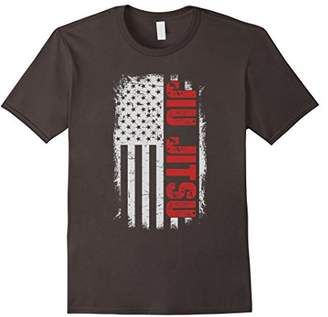 Jiu Jitsu American Flag T-shirt