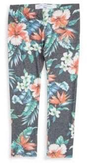 Sol Angeles Little Girl's & Girl's Palmita Floral Leggings