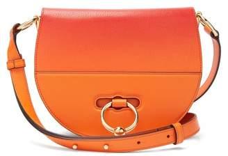 J.W.Anderson Latch Ombre Leather Cross Body Bag - Womens - Orange