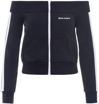 Palm Angels Off-the-shoulder Track Jacket