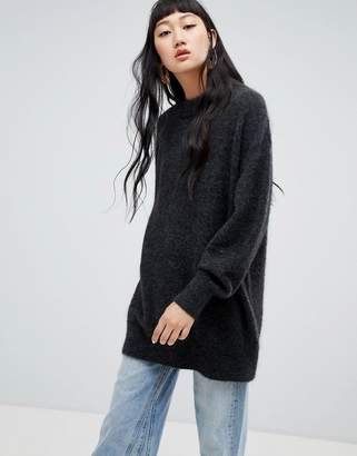 Weekday Oversized Mohair Knit Sweater