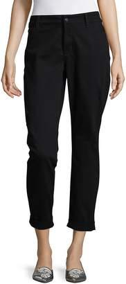 NYDJ Women's Cropped Folded Hem Pants