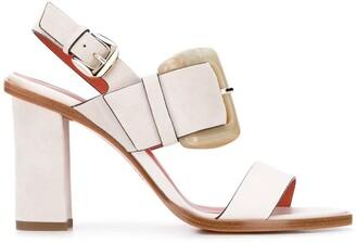 Santoni buckled sandals