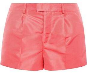 RED Valentino Satin-Faille Shorts