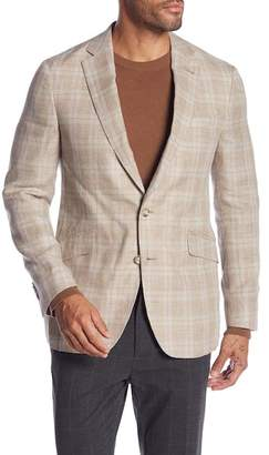 Robert Graham Clooney Plaid Tailored Fit Sportcoat