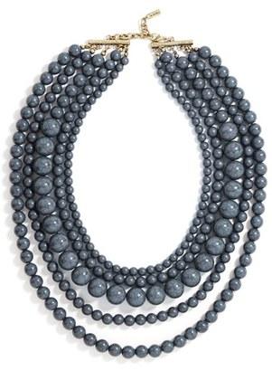 Women's Baublebar 'Globe' Multistrand Beaded Necklace $38 thestylecure.com