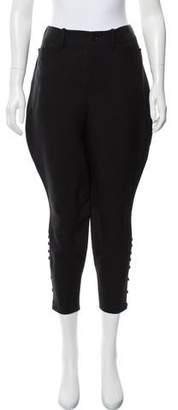 Ralph Lauren High-Rise Wool & Silk-Blend Pants w/ Tags