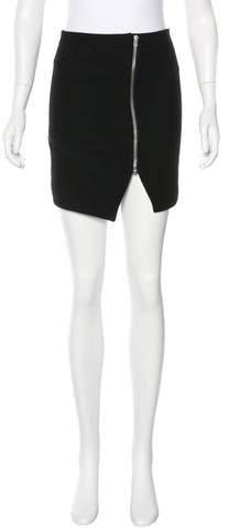 IROIro Zip-Accented Mini Skirt