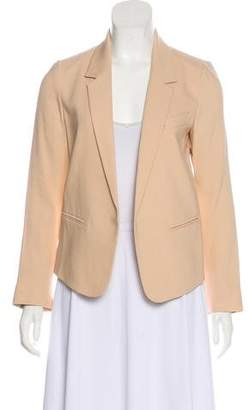 Chloé Notch-Lapel Open-Faced Jacket