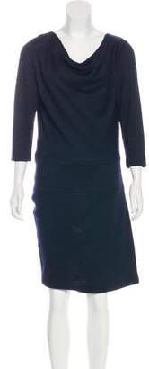 Agnona Wool Knee-Length Dress