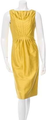 Valentino Silk & Wool-Blend Dress w/ Tags