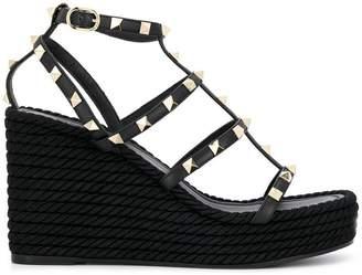 Valentino Rockstud platform sandals