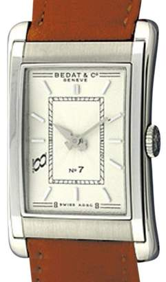 Bedat & Co No. 7 B710.010.110 Stainless Steel and Leather 34mm Watch