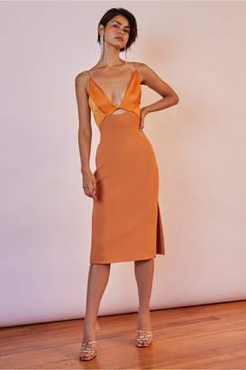 Finders Keepers PARADISE DRESS papaya