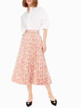 Kate Spade metallic jacquard skirt