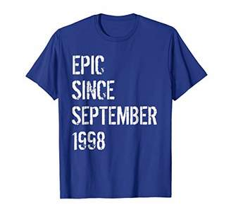 Born In September 1998 Birthday Gift T-Shirt 20 Year Old