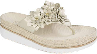 White Mountain Cliffs by Estella Espadrille Wedge Sandal - Women's
