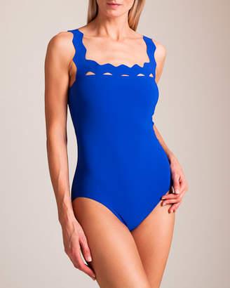 Karla Colletto Havana Square Neck Swimsuit