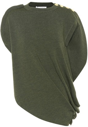 J.W.Anderson Embellished wool top