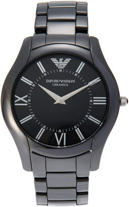 Emporio Armani AR1440 Black Ceramica Watch