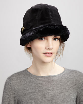 Eric Javits Vail Suede Packable Hat