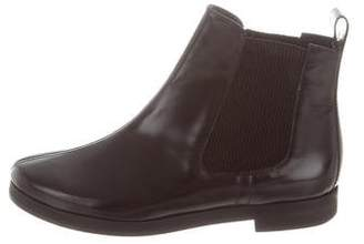Sonia Rykiel Patent Leather Chelsea Ankle Boots