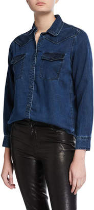 Rails Renee Denim Snap Shirt
