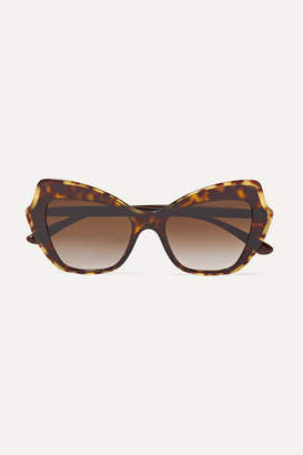 Dolce & Gabbana Cat-eye Tortoiseshell Acetate Sunglasses - one size
