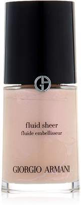 Giorgio Armani Fluid Sheer, No. 7 Pale Shimmering Rose, 1 Ounce