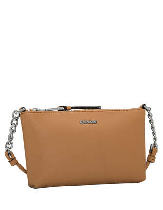 Calvin Klein H7DE12CR_BUF Hayden Zip Top Crossbody Bag