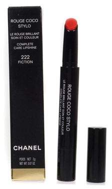 Chanel Rouge Coco Stylo Complete Care Red Lip Care 222 Fiction