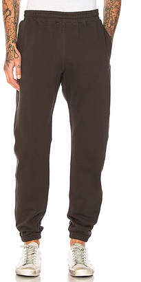 Stussy Stock Fleece Pant in Charcoal $85 thestylecure.com