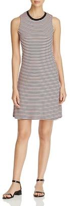 Three Dots Rib Stripe Swing Tank Dress $128 thestylecure.com