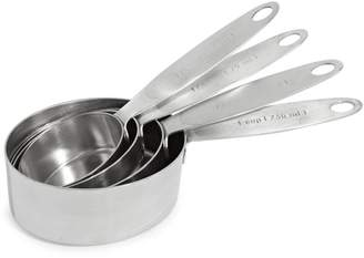 Cuisipro Four-Piece Stainless Steel Measuring Cup Set
