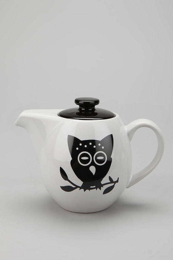 Urban Outfitters Night Owl Teapot