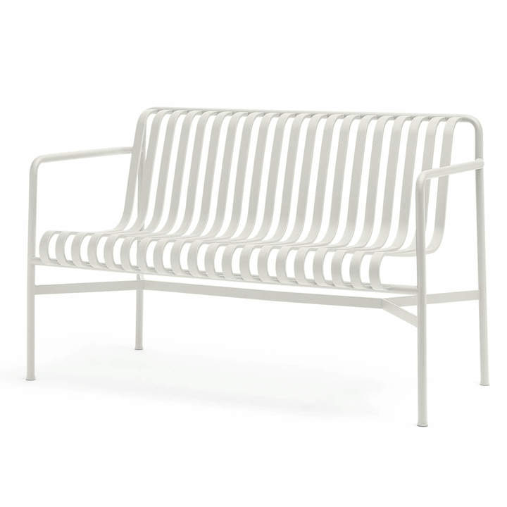 Hay - Palissade Dining Bench, cremeweiß