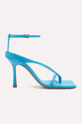 Bottega Veneta Leather Sandals - Blue