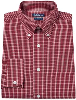 Croft & Barrow Men's Classic-Fit Easy Care Button-Down Collar Dress Shirt