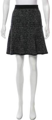 Michael Kors Wool Knit Skirt