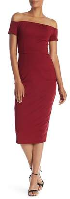 Trina Turk Candellyn Off-the-Shoulder Dress