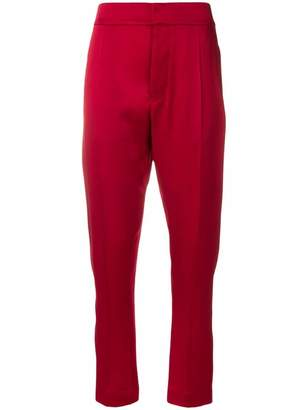 Haider Ackermann cropped sateen trousers