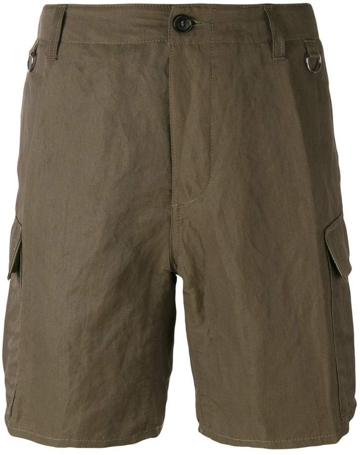 Ermanno Scervino multi-pocket cargo shorts