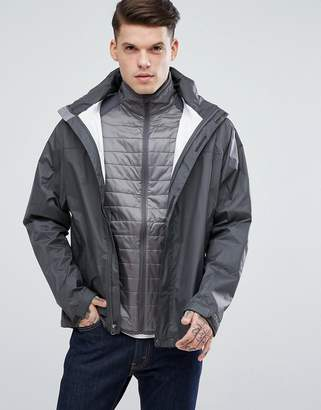 Marmot PreCip Waterproof Hooded Jacket Ripstop in Dark Gray