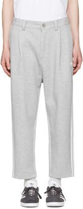 adidas Originals Grey NYC 7/8 Lounge Pants $70 thestylecure.com