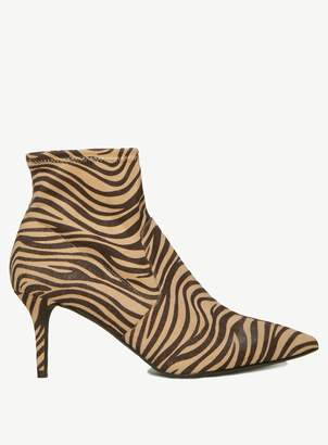 Dorothy Perkins Womens Multi Colour Zebra Print 'Motion' Boots