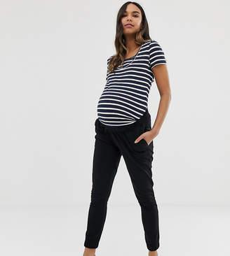 3188b5e167489 Asos DESIGN Maternity basic skinny joggers with bump band